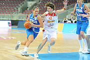 DESCRIZIONE : Riga Latvia Lettonia Eurobasket Women 2009 Quarter Final Spagna Italia Spain Italy<br /> GIOCATORE : Chiara Pastore<br /> SQUADRA : Italia Italy<br /> EVENTO : Eurobasket Women 2009 Campionati Europei Donne 2009 <br /> GARA : Spagna Italia Spain Italy<br /> DATA : 17/06/2009 <br /> CATEGORIA : penetrazione<br /> SPORT : Pallacanestro <br /> AUTORE : Agenzia Ciamillo-Castoria/M.Marchi<br /> Galleria : Eurobasket Women 2009 <br /> Fotonotizia : Riga Latvia Lettonia Eurobasket Women 2009 Quarter Final Spagna Italia Spain Italy<br /> Predefinita :