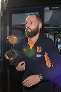 David Meyler of Hull City arrives at Ewood Park, Blackburn ahead of during the FA Cup match between Blackburn Rovers and Hull City<br /> Picture by Matt Wilkinson/Focus Images Ltd 07814 960751<br /> 06/01/2018