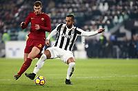 23.12.2017 - Torino - Serie A 2017/18 - 18a giornata  -  Juventus-Roma nella  foto: Medhi Benatia in lotta con Edin Dzeko