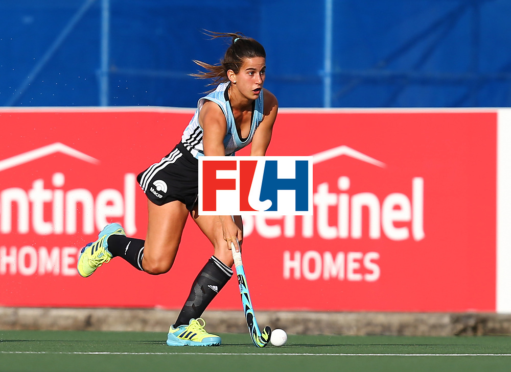 New Zealand, Auckland - 24/11/17  <br /> Sentinel Homes Women&rsquo;s Hockey World League Final<br /> Harbour Hockey Stadium<br /> Copyrigth: Worldsportpics, Rodrigo Jaramillo<br /> Match ID: 10307 - ARG-GER<br /> Photo: (5) ALONSO Agostina