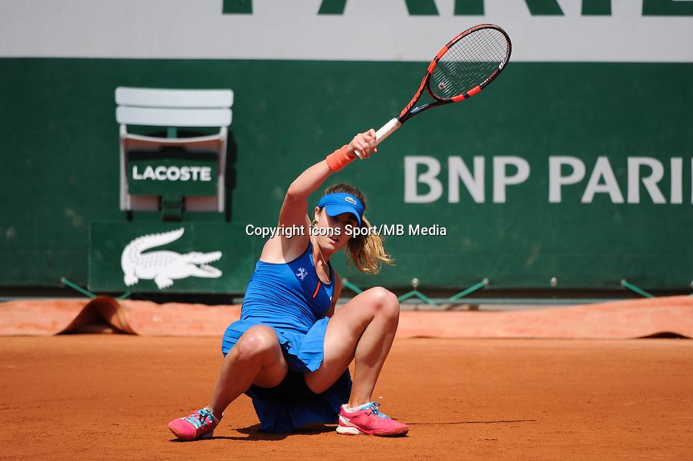 Alize CORNET  - 27.05.2015 - Jour 4 - Roland Garros 2015<br />Photo : Nolwenn Le Gouic / Icon Sport