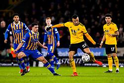 Romain Saiss of Wolverhampton Wanderers passes the ball - Mandatory by-line: Robbie Stephenson/JMP - 05/02/2019 - FOOTBALL - Molineux - Wolverhampton, England - Wolverhampton Wanderers v Shrewsbury Town - Emirates FA Cup fourth round replay