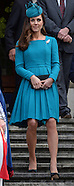 KATE & Prince William Attend Church Service, Dunedin