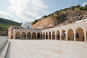 Israel, the lower Galilee. Nabi Shueib, Jethro's tomb the sacred site of the Druze
