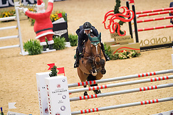 Duarte Seabra, POR, Wannahave<br />  The Shelley Ashman International Ltd, EM Rogers (Transport) Ltd Father Christmas Stakes<br /> Olympia Horse Show -London 2016<br /> © Hippo Foto - Jon Stroud<br /> 17/12/16
