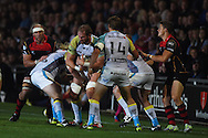 Guinness Pro12 rugby union, Newport Gwent Dragons v Ospreys at Rodney Parade in Newport, South Wales on Friday 12th Sept 2014<br /> pic by Andrew Orchard, Andrew Orchard sports photography.