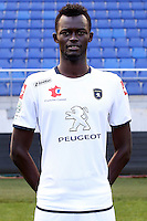 Papa Demba CAMARA - 04.10.2014 - Photo officielle Sochaux - Ligue 2 2014/2015<br /> Photo : Icon Sport