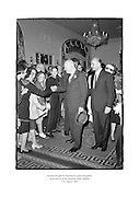 General Dwight D. Eisenhower greeting the public at the Gresham Hotel, Dublin.<br />