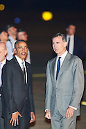070916 President Barck Obama Visit Spain. Day 1