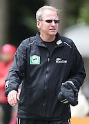 NZ manager Lindsay Crocker.<br />New Zealand v West Indies, First Test Match, National Bank Test Series, University Oval, Dunedin, Sunday 14 December 2008. Photo: Andrew Cornaga/PHOTOSPORT