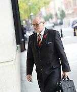 Andrew Marr Show <br /> arrivals <br /> 13th November 2016 <br /> BBC, Broadcasting House, London, Great Britain <br /> <br /> <br /> Rt Hon Crispin Blunt MP<br /> for Reigate <br /> <br /> <br /> <br /> <br /> <br /> <br /> Photograph by Elliott Franks <br /> Image licensed to Elliott Franks Photography Services