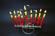 A Chanukia the main symbol of Chanukah, The Jewish festival of light