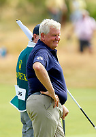 Golf - 2019 Senior Open Championship at Royal Lytham & St Annes - First Round <br /> <br /> Colin Montgomerie (SCO) looks happy on the 15th green.<br /> <br /> COLORSPORT/ALAN MARTIN