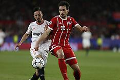 Sevilla FC and FC Bayern Munchen 3 April 2018