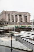 Helsinki, Kiasma, view from Museum of contemporary art