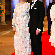 NLD/Amsterdam/20130429- Afscheidsdiner Konining Beatrix Rijksmuseum, Prince Haakon and princess Mette-Marit of Norway