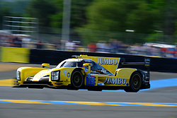 June 16, 2018 - Le Mans, Sarthe, France - Racing Team Nederland DALLARA P217 Gibson Driver FRITS VAN EERD (NLD) in action during the 86th edition of the 24 hours of Le Mans 2nd round of the FIA World Endurance Championship at the Sarthe circuit at Le Mans - France (Credit Image: © Pierre Stevenin via ZUMA Wire)