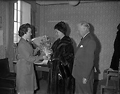 1962 - German Ambassador visits Glen Abbey Textiles.  C17.