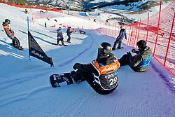 SUUR-HAMARI Matti, Banked Slalom, 2015 IPC Snowboarding World Championships, La Molina, Spain