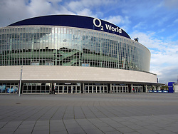 08.10.2011, O2 World, Berlin, Linz, GER, NHL, Buffalo Sabres vs LA Kings, im Bild the o2 World Berlin, during the Compuware NHL Premiere, O2 World Berlin, Berlin, Germany, 2011-10-08, EXPA Pictures © 2011, PhotoCredit: EXPA/ Reinhard Eisenbauer