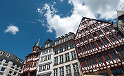 Traditional houses in the Römer, Frankfurt am Main, Germany