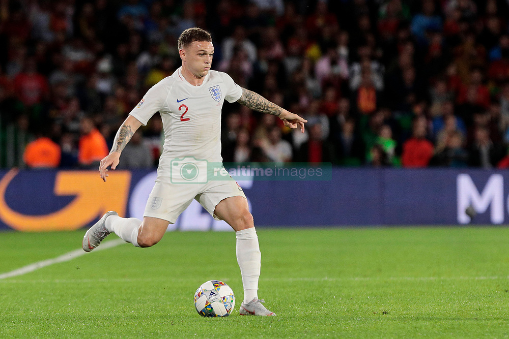 England's Kieran Trippier during UEFA Nations League 2019 match between Spain and England at Benito Villamarin stadium in Sevilla, Spain. October 15, 2018. Photo by A. Perez Meca/Alterphotos/ABACAPRESS.COM