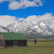 Mormon Row Cabin - Grand Tetons, WY
