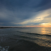 Today's  Summer sunrise at Narragansett Town Beach,  .  August  3, 2013.