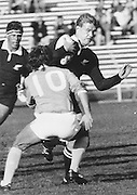 John Kirwan, New Zealand All Blacks rugby union archive. Date Unknown. Photo: Norman Smith Collection