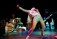 Karen O of Yeah Yeah Yeahs Live at the O2 Islington Academy in London on 15 July 2013.<br />