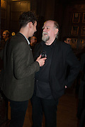 AL WEAVER; TREVOR COOPER, The Almeida Theatre  celebrates Mike Attenborough's 11 brilliant years as Artistic Director. Middle Temple Hall,<br /> Middle Temple Lane, London, EC4Y 9AT