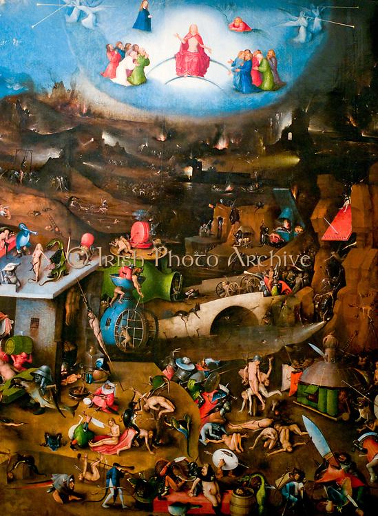 Purgatory by Hieronymus Bosch