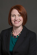 Head shot of Erica Preston with Chambers Bank in Fayetteville, Arkansas.<br /> <br /> Photo by Beth Hall