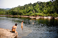 Waterfalls in Koh Kong, Cambodia, on Saturday, Dec. 4, 2010.