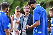 Luca Rossini<br /> Presentazione Banco di Sardegna Dinamo Sassari alle Autorità e Sponsor<br /> Alghero, Tenute Sella e Mosca, 05/09/2018<br /> Foto L.Canu / Ciamillo-Castoria