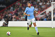 Lazio's Francesco Acerbi*** during the Pre-Season Friendly match between Bournemouth and SS Lazio at the Vitality Stadium, Bournemouth, England on 2 August 2019.