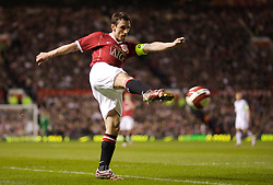 Manchester, England - Tuesday, March 13, 2007: Manchester United's captain Gary Neville during the UEFA Celebration Match against a Europe XI at Old Trafford. (Pic by David Rawcliffe/Propaganda)