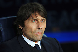 Chelsea manager Antonio Conte - Mandatory by-line: Matt McNulty/JMP - 14/03/2018 - FOOTBALL - Camp Nou - Barcelona, Catalonia - Barcelona v Chelsea - UEFA Champions League - Round of 16 Second Leg