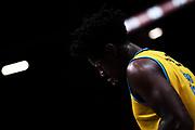Henry Sims<br /> EA7 Emporio Armani Olimpia Milano - Vanoli Cremona<br /> LegaBasket Serie A 2017/2018<br /> Milano, 22/01/2018<br /> Foto M.Ceretti / Ciamillo - Castoria
