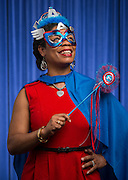 Adrianne Glover poses for a photograph, May 5, 2016.