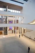 Mannheim. 08.11.17 | Zum Neubau Kunsthalle<br /> Innenstadt. Kunsthalle. Pressegespräch zum Neubau der Neuen Kunsthalle. Die Eröffnung der Neuen Kunsthalle im Dezember nur mit Skulpturen - keine Gemälde wegen technischen Verzögerungen.<br /> <br /> <br /> <br /> <br /> BILD- ID 01567 |<br /> Bild: Markus Prosswitz 08NOV17 / masterpress (Bild ist honorarpflichtig - No Model Release!)