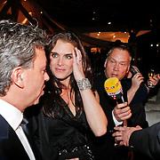 NLD/Amsterdam/20101209 - VIP avond Miljonairfair 2010, Brooke Shields en Yves Gijrath