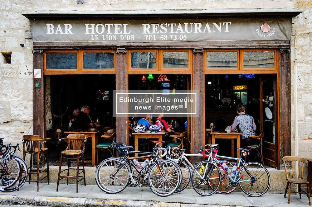 Street scene in Issigeac, France<br /> <br /> (c) Andrew Wilson | Edinburgh Elite media