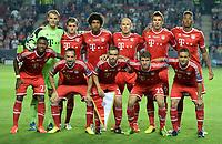 Fotball<br /> 30.08.2013<br /> Foto: Witters/Digitalsport<br /> NORWAY ONLY<br /> <br /> 0:1 Jubel Fernando Torres (Chelsea)<br /> <br /> Lagbilde FC Bayern Muenchen<br /> hinten v.l. Torwart Manuel Neuer, Toni Kroos, Dante, Arjen Robben, Mario Mandzukic, Jerome Boateng<br /> vorn v.l. David Alaba, Franck Ribery, Philipp Lahm, Thomas Mueller, Rafinha