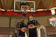 DESCRIZIONE : Roma Lega Basket A 2012-13  Raduno Virtus Roma<br /> GIOCATORE : Bobby Jones Olek Czyz<br /> CATEGORIA : curiosita ritratto<br /> SQUADRA : Virtus Roma <br /> EVENTO : Campionato Lega A 2012-2013 <br /> GARA :  Raduno Virtus Roma<br /> DATA : 23/08/2012<br /> SPORT : Pallacanestro  <br /> AUTORE : Agenzia Ciamillo-Castoria/M.Simoni<br /> Galleria : Lega Basket A 2012-2013  <br /> Fotonotizia : Roma Lega Basket A 2012-13  Raduno Virtus Roma<br /> Predefinita :