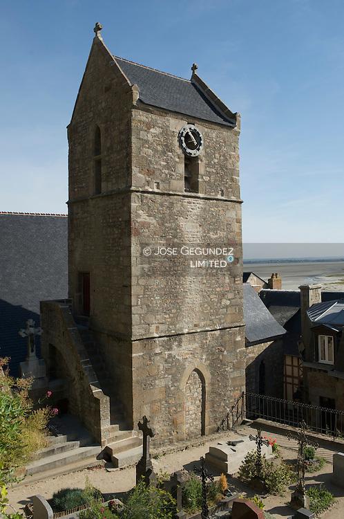 Abadia del Mont Saint Michel..Abbey of Mont Saint Michel