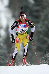 Marek Matiasko (SVK) at Men 20 km Individual at E.ON Ruhrgas IBU World Cup Biathlon in Hochfilzen (replacement Pokljuka), on December 18, 2008, in Hochfilzen, Austria. (Photo by Vid Ponikvar / Sportida)