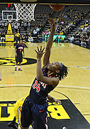 February 24 2011: Illinois Fighting Illini guard Adrienne Godbold (24) puts up a shot during the first half of an NCAA women's college basketball game at Carver-Hawkeye Arena in Iowa City, Iowa on February 24, 2011. Iowa defeated Illinois 83-64.