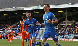 Ben White of Peterborough United celebrates scoring his goal and his sides second of the game - Mandatory by-line: Joe Dent/JMP - 23/03/2019 - FOOTBALL - ABAX Stadium - Peterborough, England - Peterborough United v Southend United - Sky Bet League One