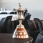 The prestigeous NZ Motor Cup that is awarded to the winner of the feature race at Round 3 of the 2018 Castrol Toyota Racing Series at Hampton Downs, Sunday January 28, 2018.<br /> Copyright photo: Bruce Jenkins / www.photosport.nz